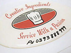 Custom Dome Stickers Printing