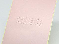 Custom Embossed Paper Stickers Printing