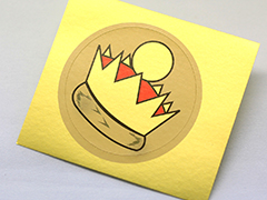 Foil Paper Stickers Printing