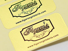 Custom Foil Paper Stickers Printing