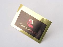 Custom Gold Vinyl Stickers Printing