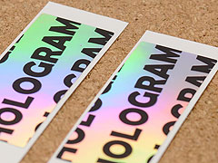Custom Hologram Stickers Printing