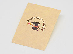 Custom Kraft Paper Stickers Printnig