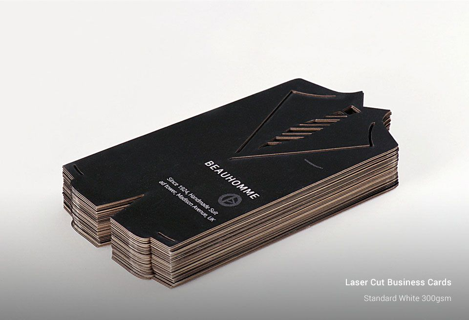 Custom Laser Cutting Business Cards Printing