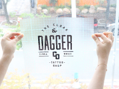 Lettering Decals Printing