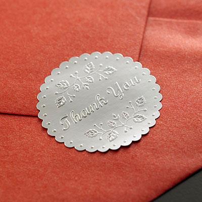 Metallic Stickers Printing