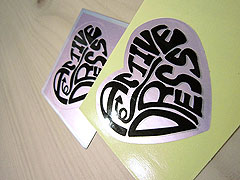 Custom Silver Vinyl Stickers