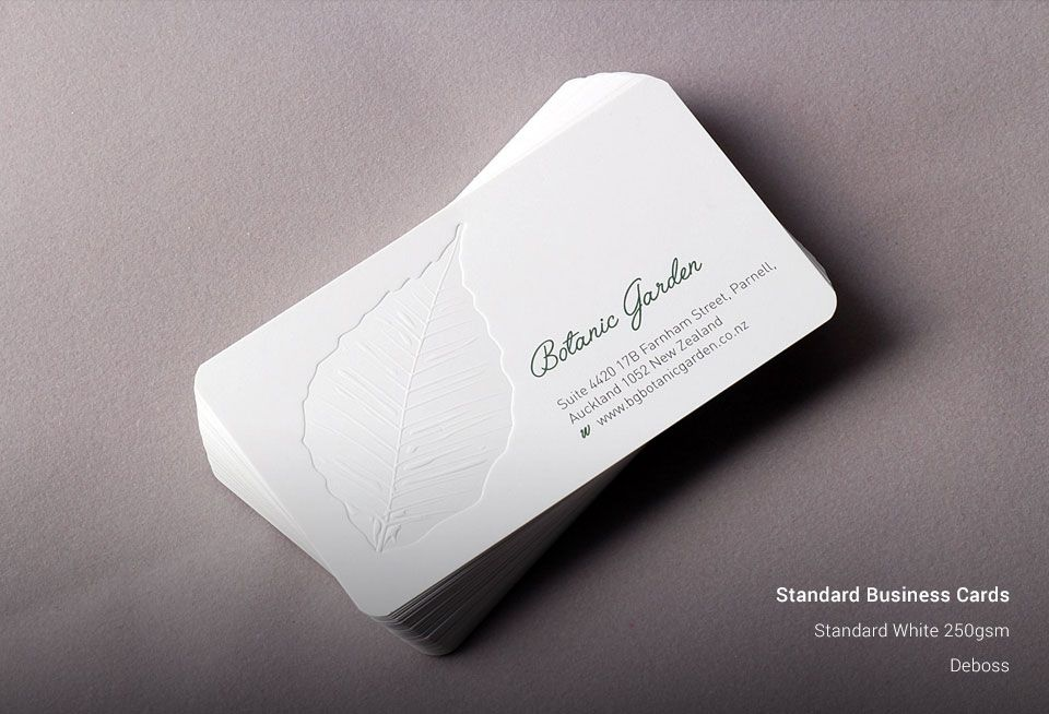 Custom Standard Business Printnig Cards