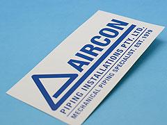 Custom Standard Vinyl Stickers Printing