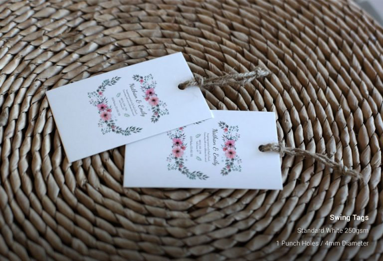 Custom Swing Tags Printing