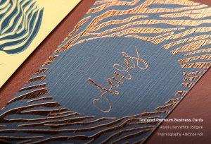 Custom Textured Business Cards Printing