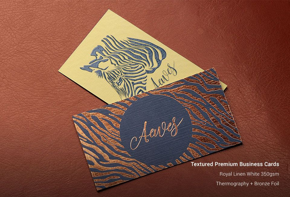 Custom Textued Business Cards Printing