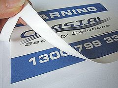 Custom Window Stickers Printing