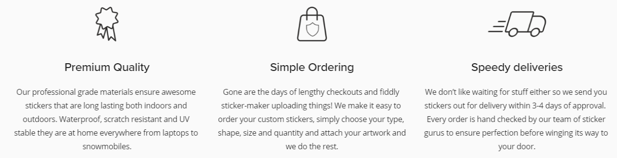 Custom Stickers Printing - Logo Stickers - Printed Stickers Maker In UK